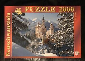 Puzzle 2000 pièces Neuschwannstei