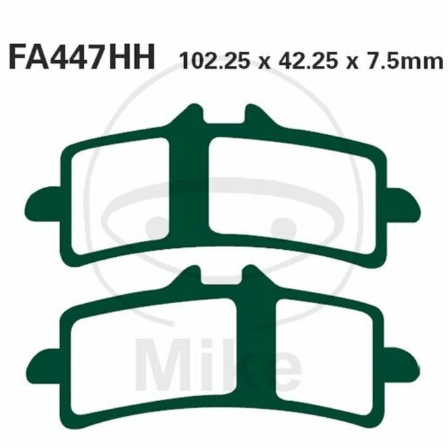 Par Pastillas EBC Hh FA447HH 732.24.56 Para KTM 990 Supermoto R 2010-2011