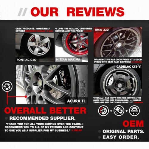 Front And Rear Premium OE Brake Rotors For Hyundai Elantra Veloster Soul