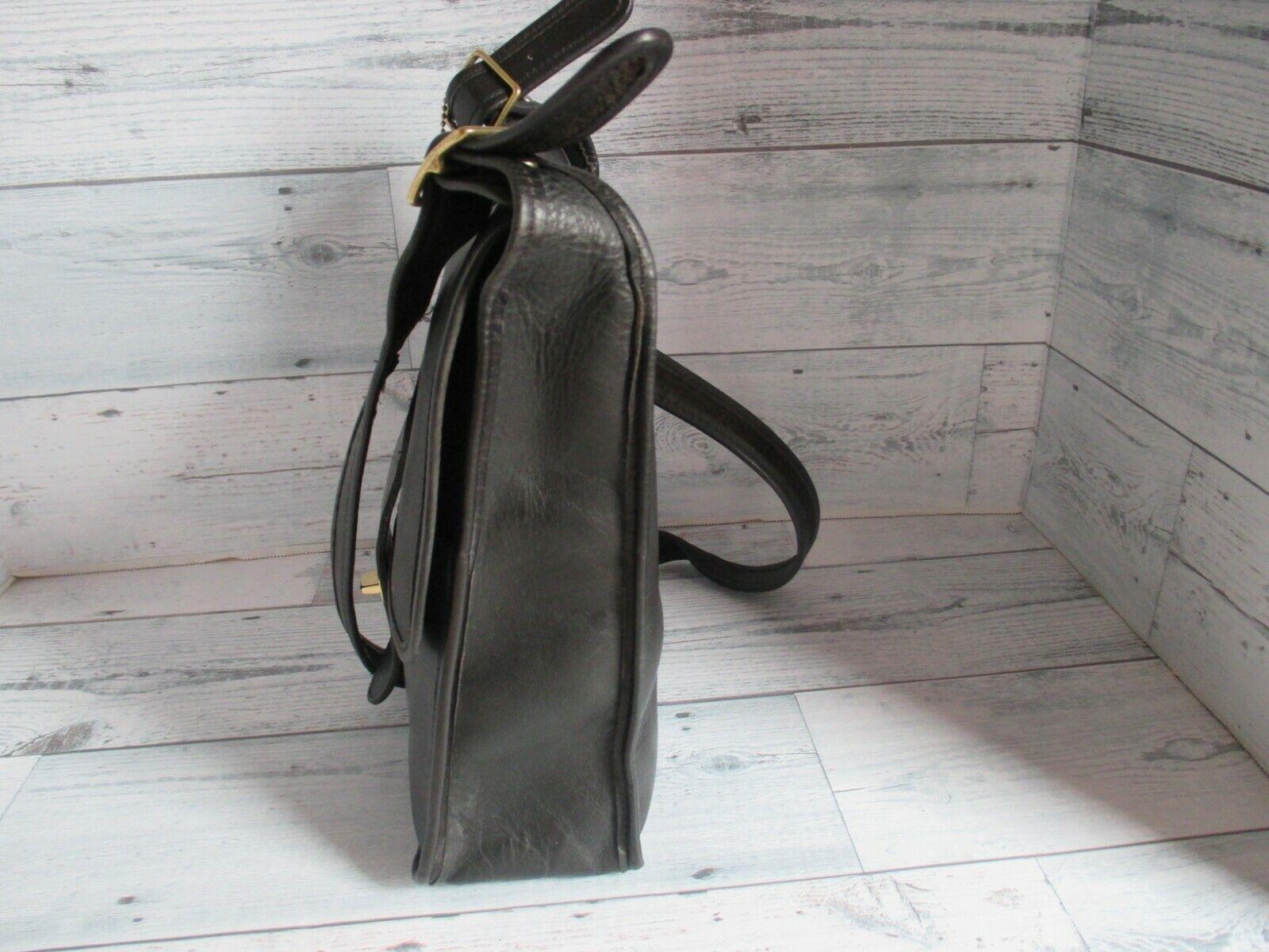 Vintage Coach Bonnie Cashin Black Leather Pre-Cre… - image 6