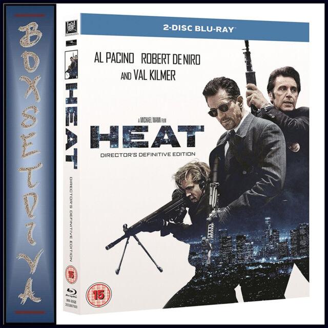HEAT - REMASTERED EDITION -  Al Pacino  & Robert DeNiro **BRAND NEW BLU-RAY***
