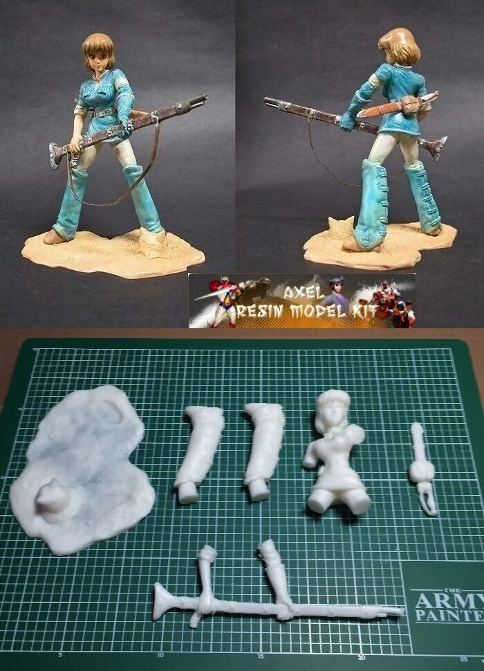 ANIME MODEL RESIN KIT - 1 12 NAUSICAA OF THE VALLEY OF THE WIND STUDIO GHIBLI