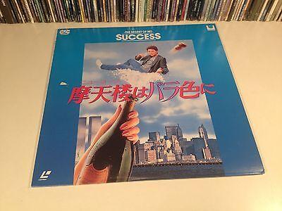 The Secret Of My Success Rare Japan Laserdisc Comedy 1987 Michael J. Fox