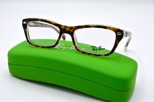 NEW-RAY-BAN-JUNIOR-RB-1550-3602-TORTOISE-AUTHENTIC-EYEGLASSES-FRAME-RX-46-15-42R