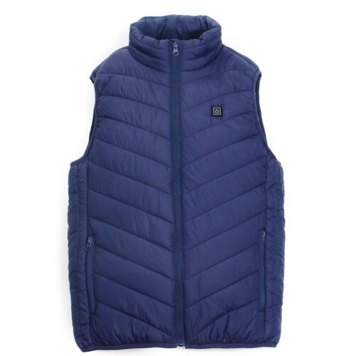 Electric USB Winter Heated Warm Vest Men Women Heating Work Coat Jacket Fashion