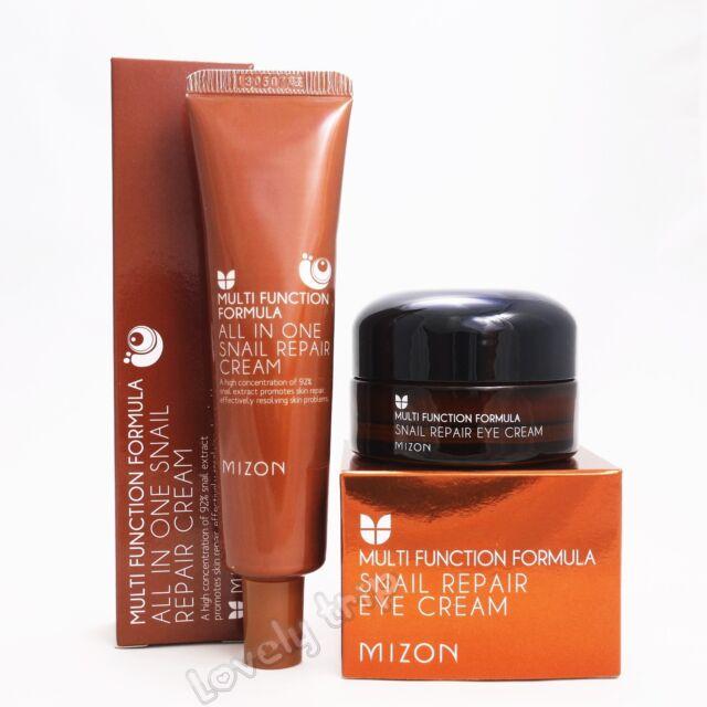 MIZON All In One Snail Repair Cream 35ml + MIZON Snail Repair EYE Cream 25ml