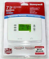 Honeywell Programmable Thermostat 7-day Backlit Easy Install Rthl2510c >new