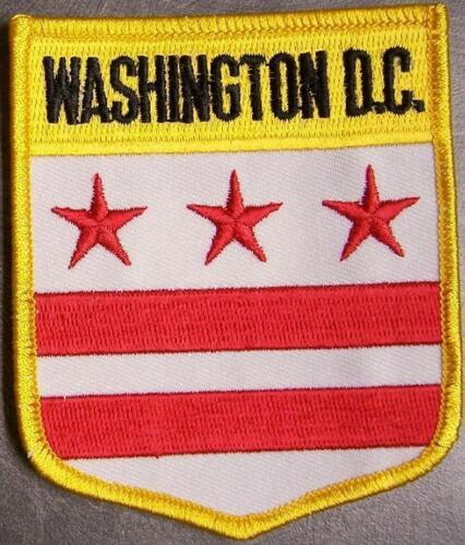 Embroidered USA State Patch Washington D C NEW bunting