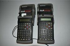 Brady Tls2200 Thermal Labeling System Lot Of 2 Yq37