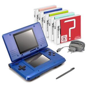 Nintendo-DS-Handheld-Konsole-5-Spiele