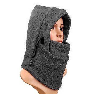 Winter Outdoor Warmer Fleece Thermal Balaclava Neck Face Hood Hat Mask Scarf I