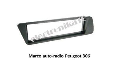 Marco Soporte de montaje Radio Doble din Peugeot 308 con embellecedor