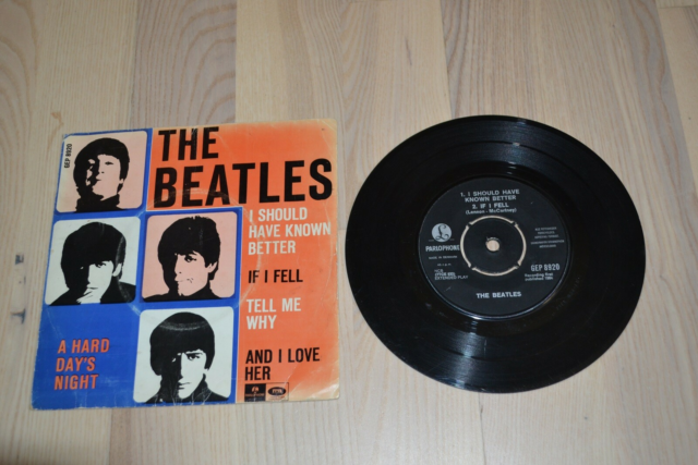 EP, The Beatles, A Hard Days Night. Made in Denmark, The…