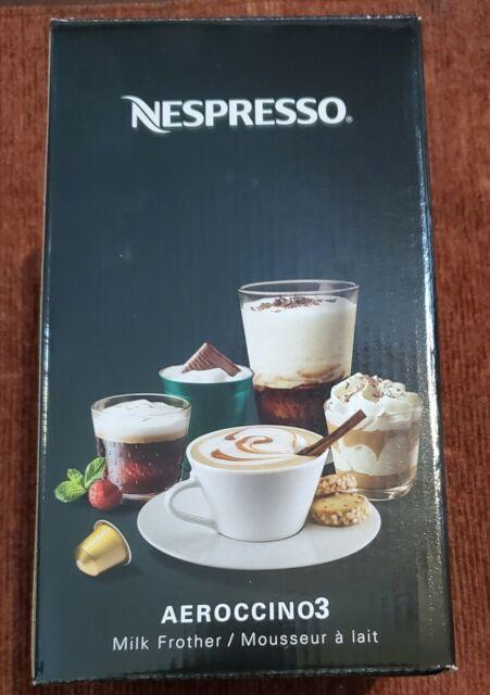 Nespresso Aeroccino3 3594 Black Milk Frother