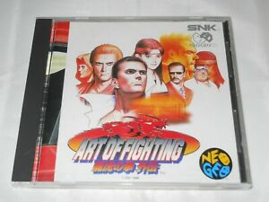 Art Of Fighting 3 Path Of The Warrior Neo Geo Cd Complete Japan Us