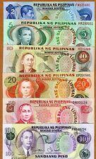 SE,  Philippines, 2;5;10;20;50;100 Piso (1965-1978) UNC