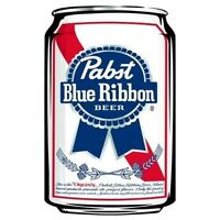 Pabst Blue Ribbon Iron On T Shirt Pillowcase Fabric Transfer 1 - Can