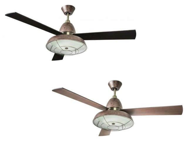 Globo Ceiling Fan Light Fabiola 132 Cm 52 Maple Blades With Remote Control For Sale Online Ebay