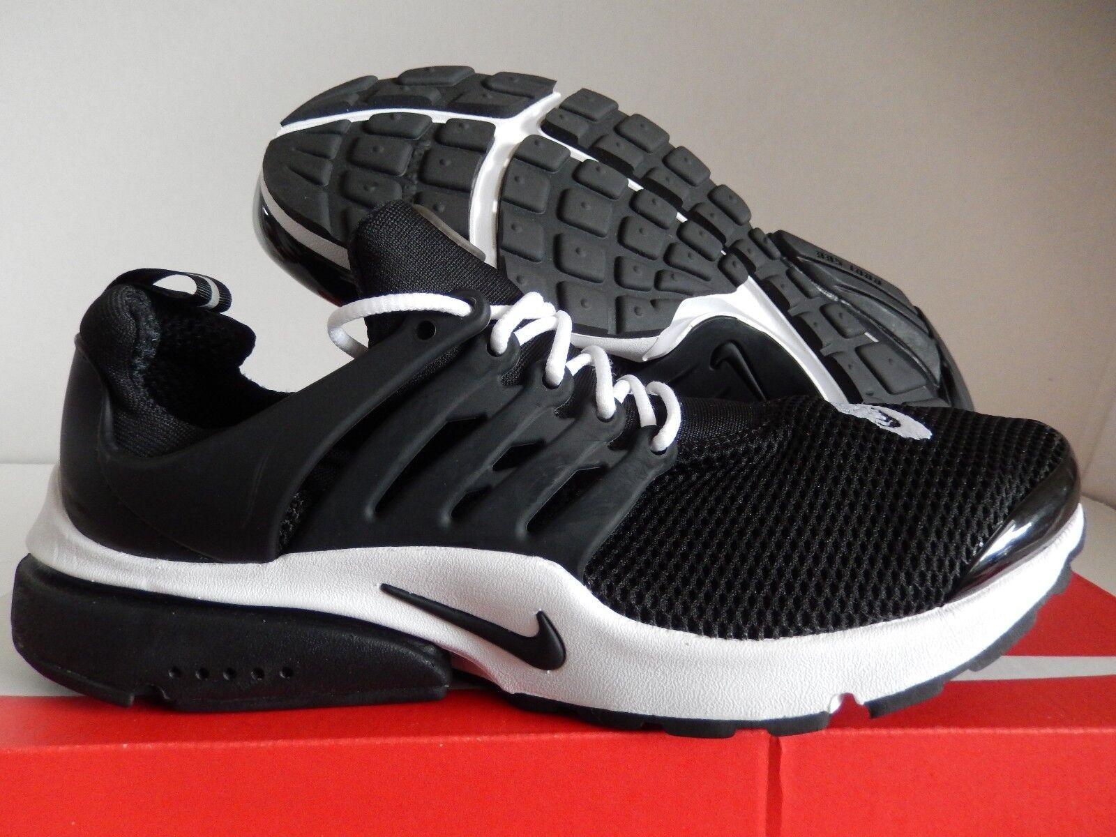 MENS NIKE AIR PRESTO ID BLACK-WHITE Price reduction Wild casual shoes