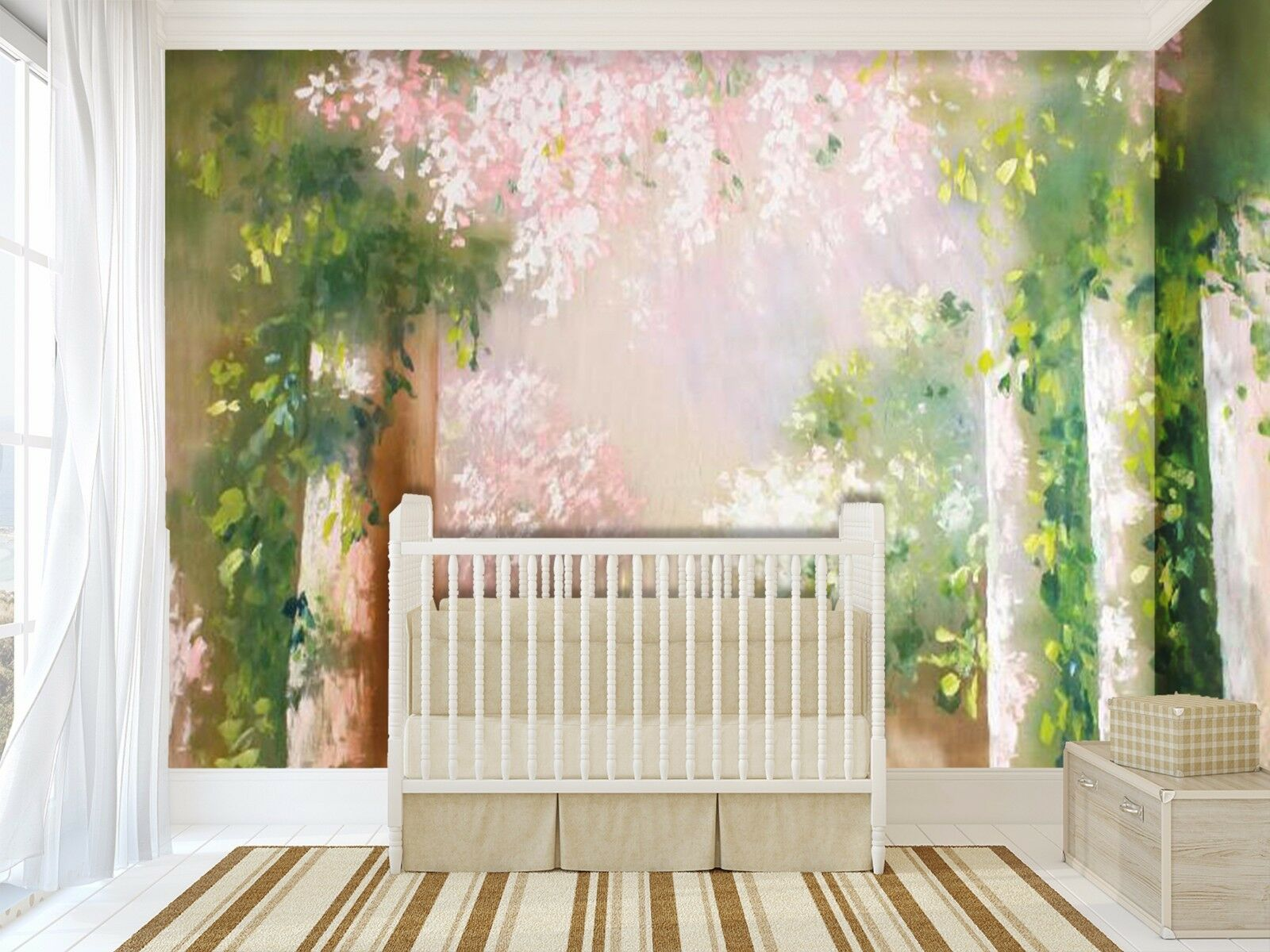 3D Garden Grün 3646 Wall Paper Wall Print Decal Wall Indoor Murals Wall US