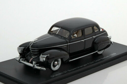 1:43 neo Graham Supercharger four door sedan 1939 Black