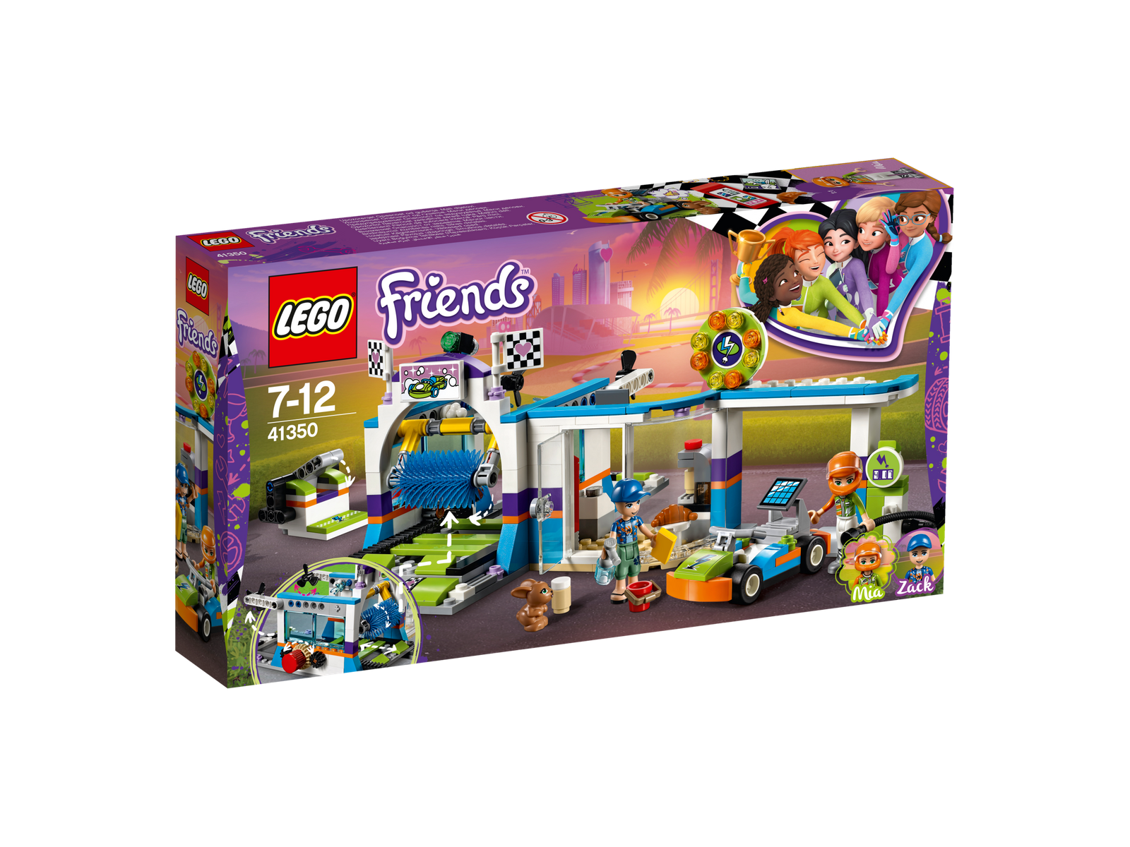 LEGO® Friends 41350 Autowaschanlage NEU OVP_ NEW MISB NRFB