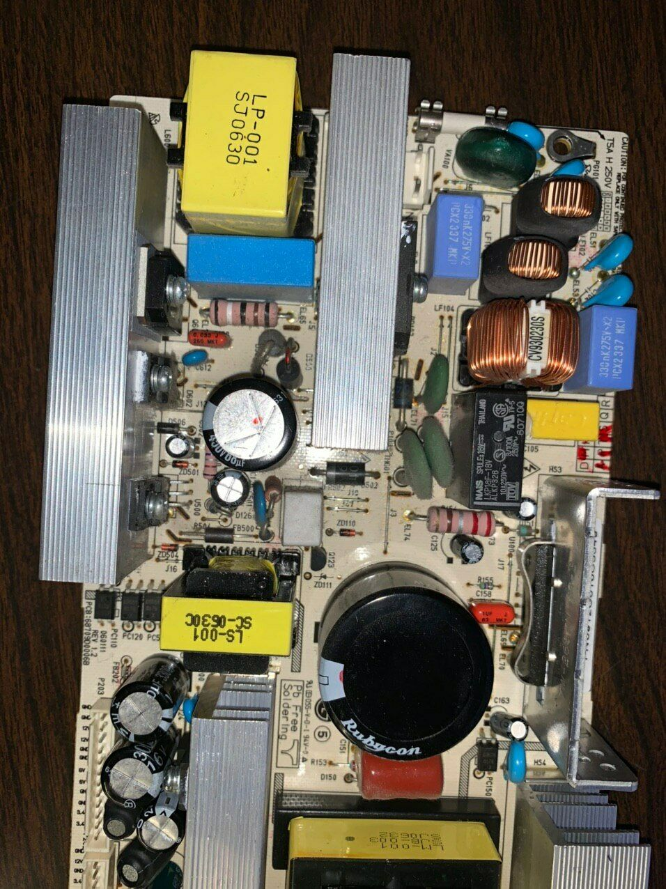 Plug Type: Universal Pukido Original for LG 32LC2RC-CJ Power Board LGP2637N 68709D0006B
