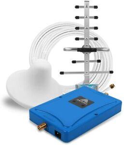 2G/3G/4G 900/2100MHz Handy Signal Booster Repeater Verstärker Antenne für Hause