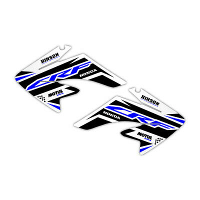 USA Flag Racing Graphics Kit Fits 04-10 CRF70 Shroud Plastic Decals CRF 70