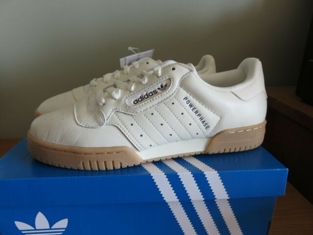 adidas Powerphase Trainers in off White