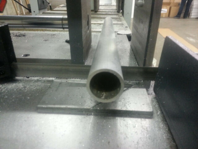 "1/"" Aluminum Round Tube 6061 T6511 .125/"" wall x 18/"""