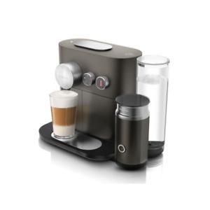 DeLonghi EN 355.GAE Expert & Milk Nespresso-System anthrazit/silber