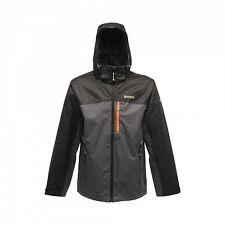 Reagtta Sanford Mens Waterproof Breathable Mesh Lined Textured Jacket Grey XXL