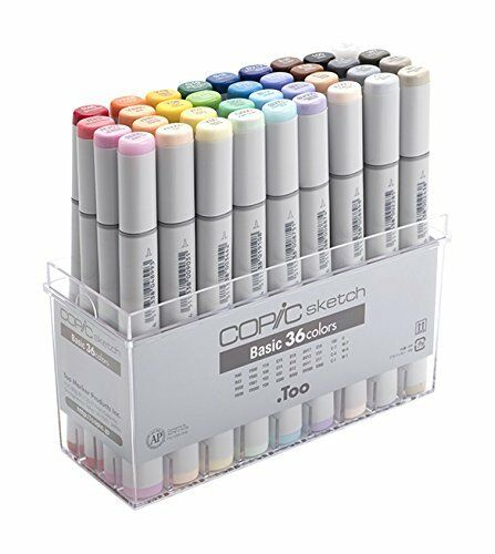 Too Copic Sketch Basic 36 color set 12502074 Japan import