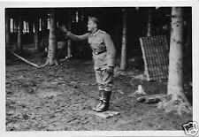 Original-Photo WK 2 FRANKREICH 1940 Befehlsausgabe 10 x 7 cm