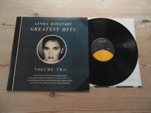 LINDA-RONSTADT-GREATEST-HITS-VOLUME-2-GREAT-AUDIO-ASYLUM-EX-VINYL-LP-1980