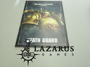 Warhammer-40k-Death-Guard-Codex-Army-Book-Chaos-Space-Marine-mini-book