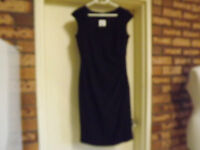 Brand With Tag Rockmans Cap Sleeve Gathered Dress Sz 8 Rrp $79.99