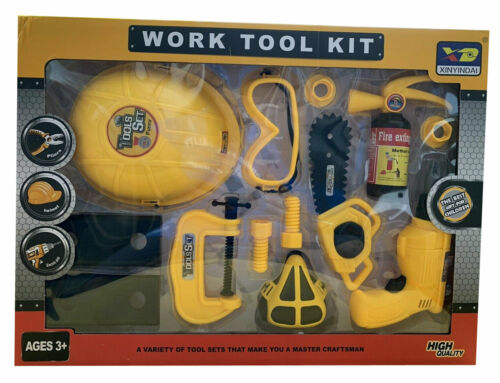 Kids Pretend Play High Quality Work Tool Kit Repair Tool Educational Toy