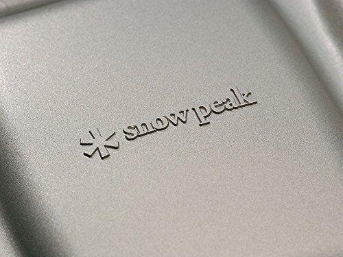 SNOW PEAK GR-009 GR-009 PEAK TRAMEZZINO HOT SANDWICH COOKER CAMPING OUTDOOR COOKWARE f7d601