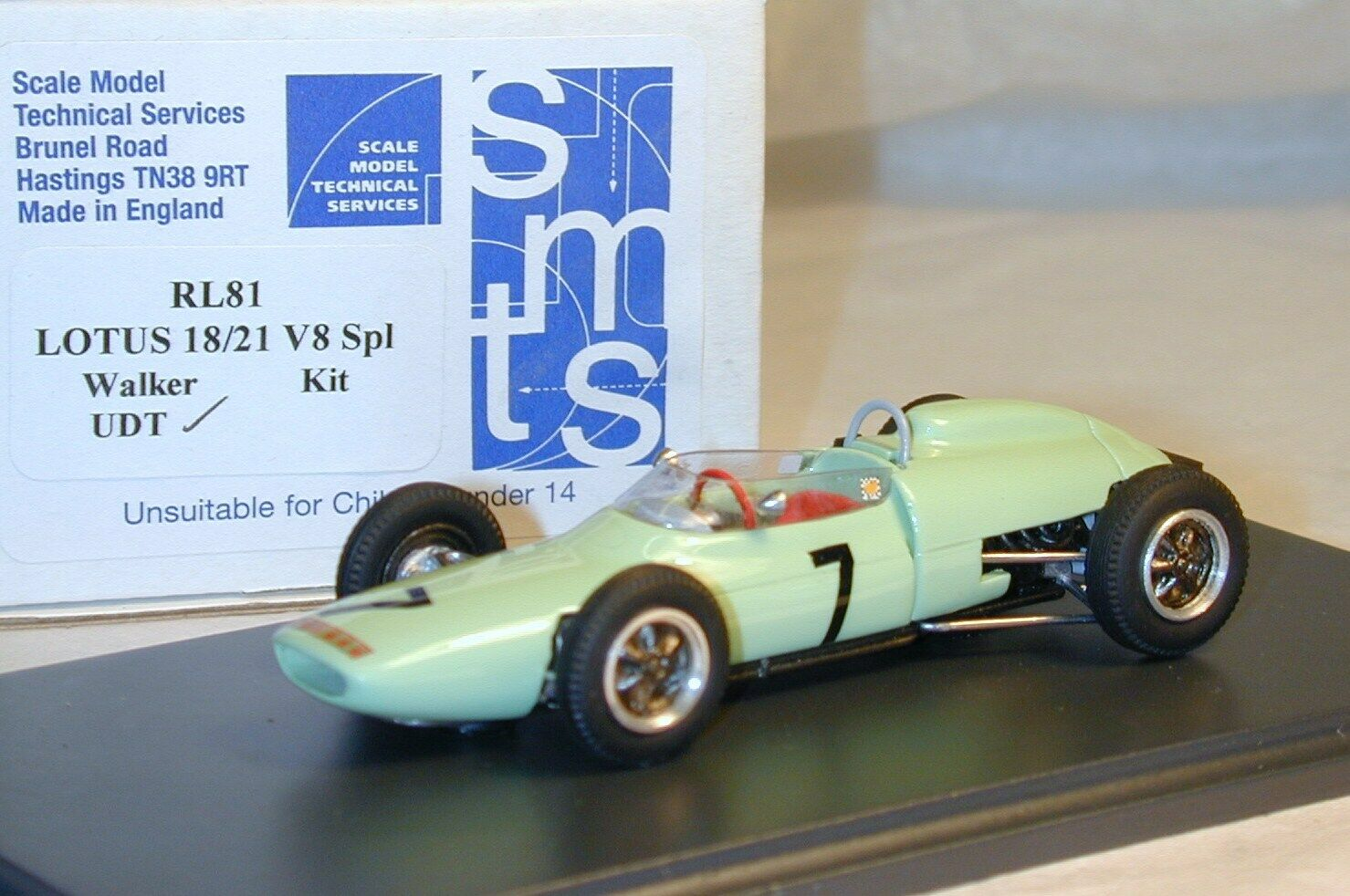 1 43 RL81 LOTUS 18 21 Moss GOODWOOD BY SMTS