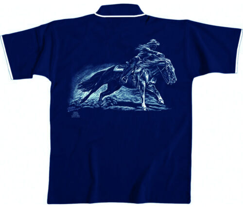 polo-shirt unisexe shirts s m l xl xxl collection BOETZEL western équitation 10440