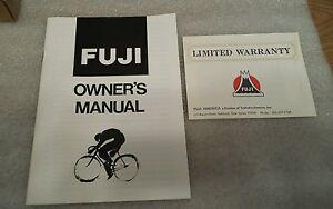 fuji bike owners manual open source user manual u2022 rh dramatic varieties com Fuji Road Bikes Fuji Bikes for Women