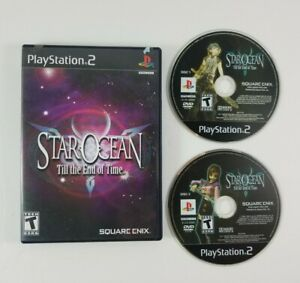 Star-Ocean-Till-the-End-of-Time-Playstation-2-PS2-Case-and-Disc-NO-Manual
