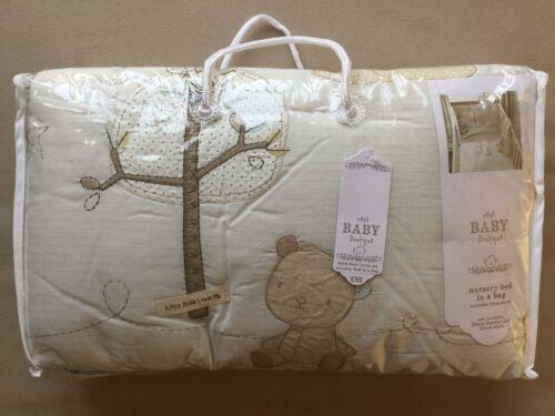 Prochain buddy bear nursery cot bed in a bag ensemble de literie rrp £ 55