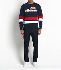 Ellesse Men's Sweatshirt - Puccini - Medium -  Navy Red White - RRP £55 - SALE