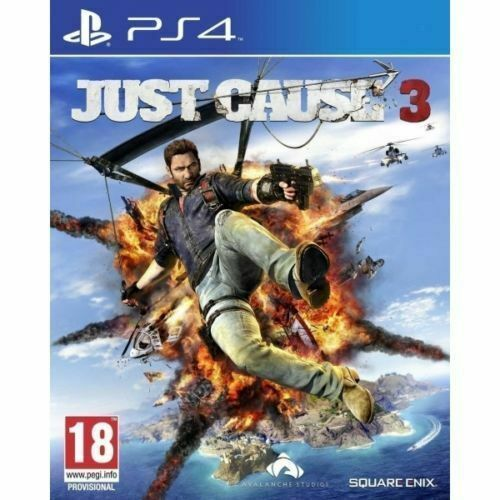 Just Cause 3 PS4 Playstation 4 Brand New Sealed