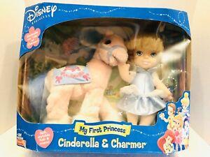 Disney-Fisher-Price-My-First-Princess-2002-Cinderella-And-Charmer-Horse-Toy-NIB