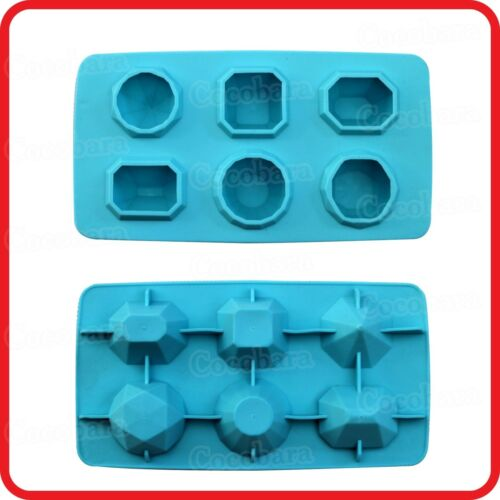 ICE FREEZE CUBE CANNIBAL TRAY-DIAMOND SHAPED,JEWELS-HALLOWEEN-PARTY-COSTUME