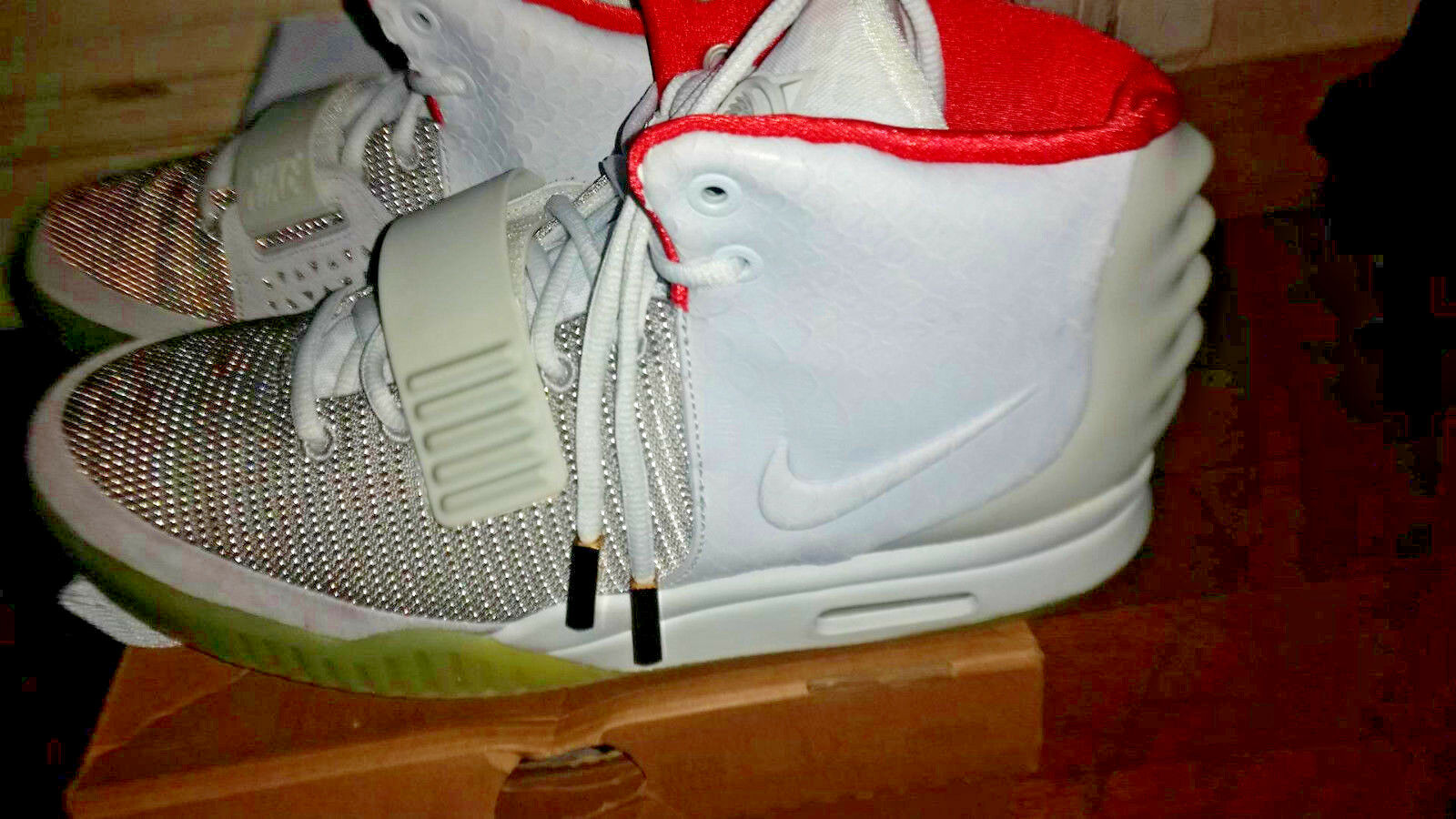 Nike X Kanye West YEEZY 2 Platinium  Gris Gris Gris  OG ALL DS acf065